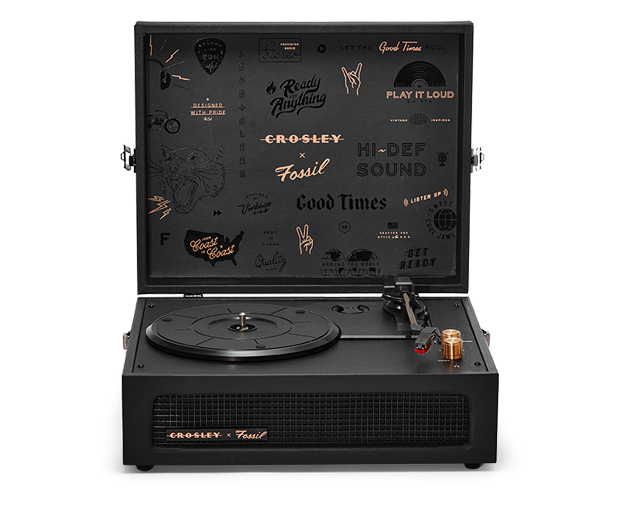 Crosley X Fossil Voyager Turntable